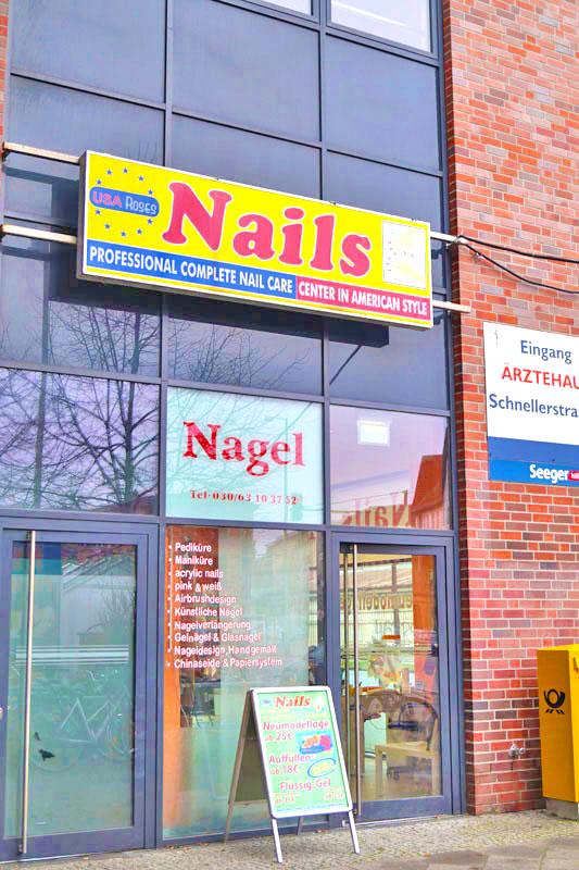 Zentrum Schoneweide Euro New Roses Usa Nails
